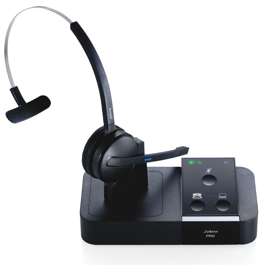 デモ機 Jabra PRO 9450 ワイヤレスヘッドセット 2.4型タッチパネル搭載モデル