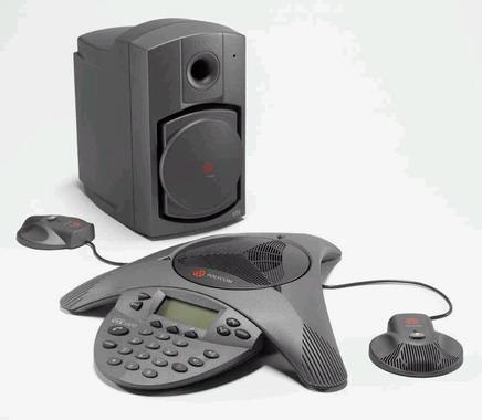 Polycom SoundStation VTX 1000  拡張マイク付 会議システム