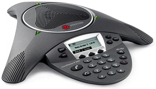 Polycom SoundStation IP6000 会議システム