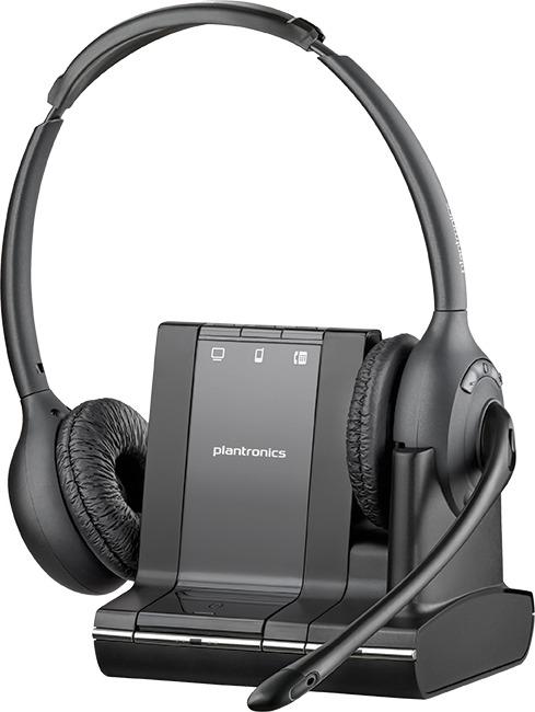 Plantronicsプラントロニクス Savi W720 Unlimited Talk Time Bluetooth ワイヤレスヘッドセットシステム