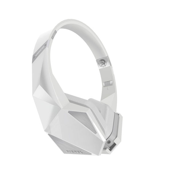 Monster X Diesel Vektr On-Ear Headphones モンスター ディーゼル オンイヤーヘッドホン  ホワイト