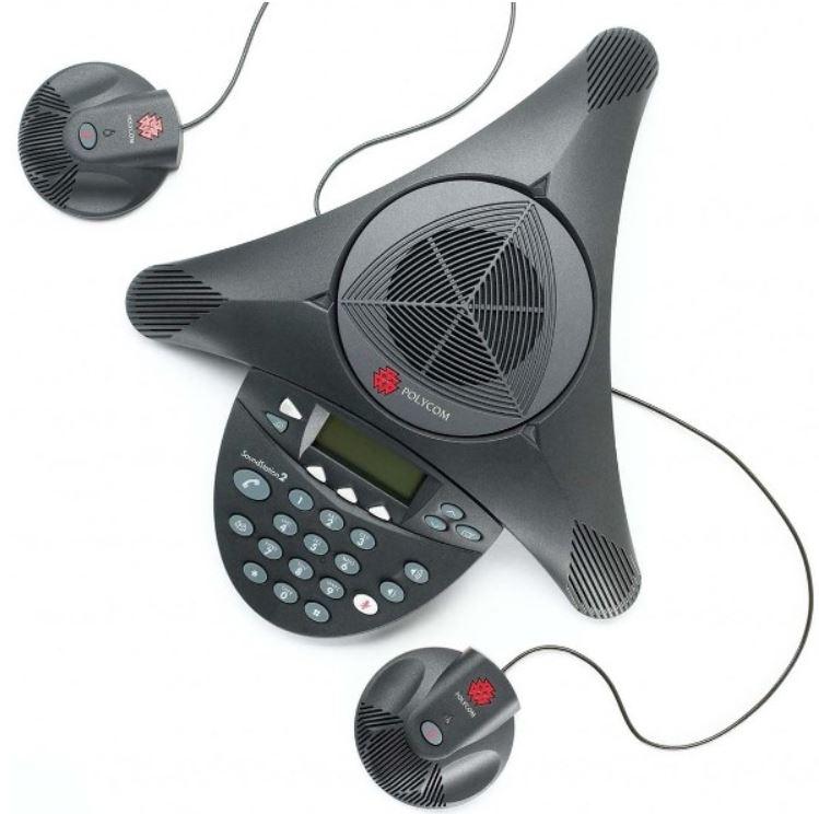 訳あり 新品同様 Polycom SoundStation 2 EX 拡張マイク対応モデル 会議システム  サウンドステーション2 ※拡張マイクは付属しません PPSS-2