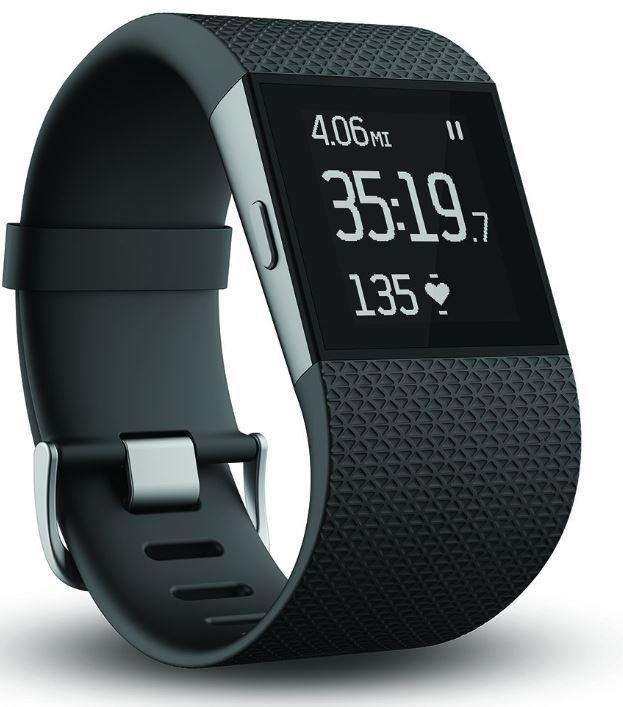 新製品 アウトレット特価 Fitbit Surge ブラック Lサイズ