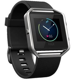 【未使用品特価】アウトレット Fitbit Blazeブラック Lサイズ