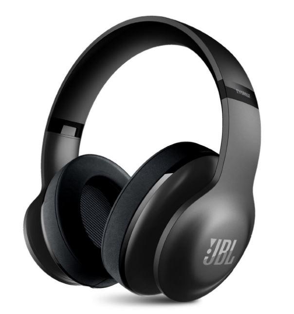 アウトレット品 JBL EVEREST 700 ワイヤレスヘッドホン Bluetooth 密閉ダイナミック型オーバーイヤー ブラック &グレー