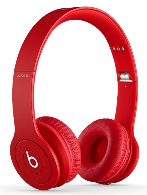 【アウトレット特価!】 Beats by dr.dre / beats by dr.dre beats Solo HD Matte Red   BT ON SOLOHD M-RED オンイヤーヘッドホン  レッド