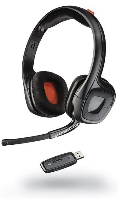 プラントロニクス ワイヤレス GAMECOM 818 Wireless Stereo HEADSET ワイヤレスヘッドセット EXTENDED GAMING SESSIONS PC, MAC PLAYSTATION 4 対応