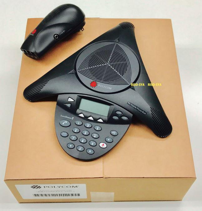 デモ機特価!【税込!】世界シェアNo.1 Polycom SoundStation 2  会議システム  拡張マイク接続不可  サウンドステーション2 PPSS-2-BASIC ポリコム