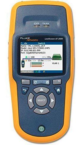 デモ機 FLUKE NETWORKS リンクランナー LRAT-2000