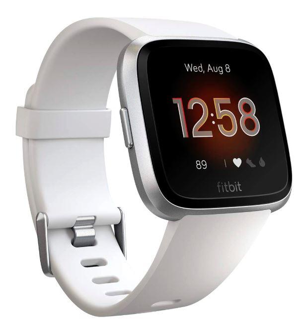 新製品 【未使用品特価】アウトレット Fitbit フィットビット フィットネススマートウォッチ VersaLite L/Sサイズ ホワイト