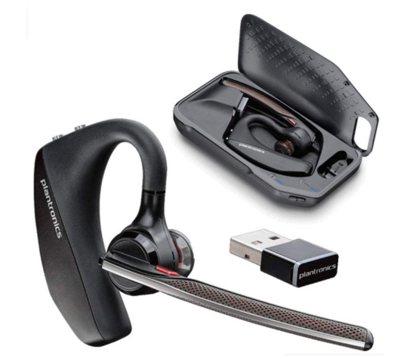 Skype対応 国内正規品 メーカー直送 日本プラントロニクス Voyager 5200 アドバンスドNC ワイヤレスヘッドセットシステム 超美品再入荷品質至上 UC Bluetooth