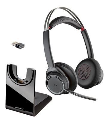 プラントロニクス Plantronics Voyager Focus UC B825ワイヤレスヘッドセットシステム