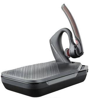 新品 プラントロニクス Plantronics Voyager 5200 ノイズキャンセリング Bluetooth ワイヤレスヘッドセット バッテリー内蔵キャリングケース付 セット 直輸入品