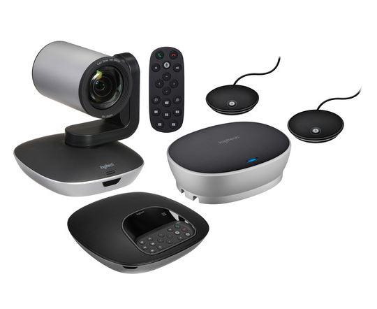 ロジテック  (ロジクール)Logitech Webカメラ GROUP Video Conferencing System カメラ会議システム 拡張マイク2個同梱