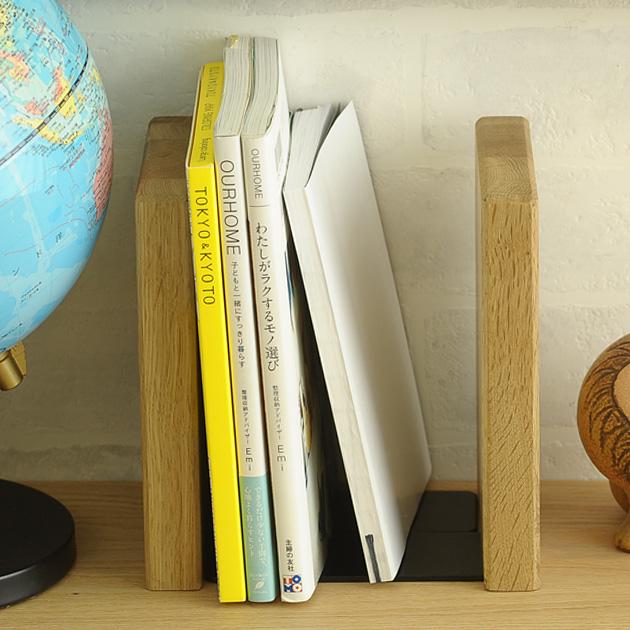 キッズデスクに置いてもおしゃれなナチュラルテイストの北欧風木製本棚 Latree ラトレ FUN ブックエンド スクエア 本棚 贈物 ブックスタンド 完全送料無料 おしゃれ キッズ デスク 木製 北欧 子供 ナチュラル