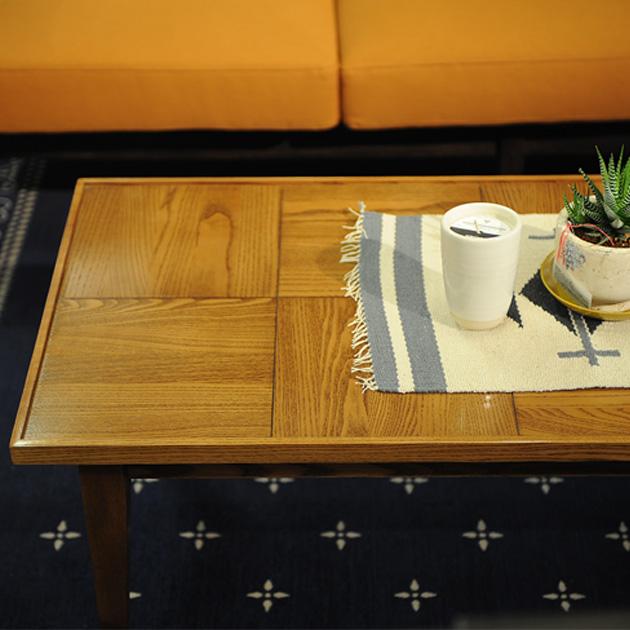 【10%OFFクーポン配布中】 journal standard Furniture ジャーナルスタンダードファニチャー BOWERY コーヒーテーブル 122cm ジャーナルスタンダード 家具 ローテーブル コーヒーテーブル 木製 高さ40 おしゃれ 寄木 アッシュ ビンテージ