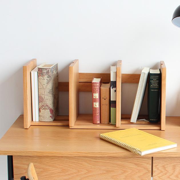 本の量に合わせてサイズ調整可能なシンプルな木製ブックスタンド ブックスタンド LIBRO 本収納 ギフト プレゼント ご褒美 収納 木製 シンプル インテリア ナチュラル おしゃれ 本棚 サイズ調節 爆買いセール