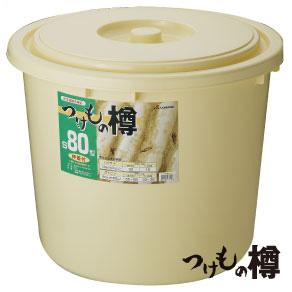 つけもの樽 S80型 漬物樽 漬け物 漬物 漬け物容器 漬物容器 蓋付 押し蓋付き リス:リスプロショップ