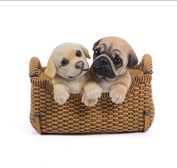 ~生活をカラフルオシャレに~ パグ雑貨 パグ 置物 クリアランスsale 期間限定 小物入れドッグ 収納ボックス �品質 小物入れ かご 犬