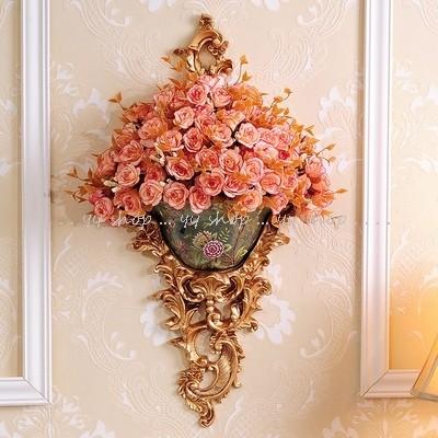 1020T16-1-5壁飾り 壁掛けインテリア 造花 ディスプレイ 壁掛けミックスグリーン 人工観葉植物 壁掛け