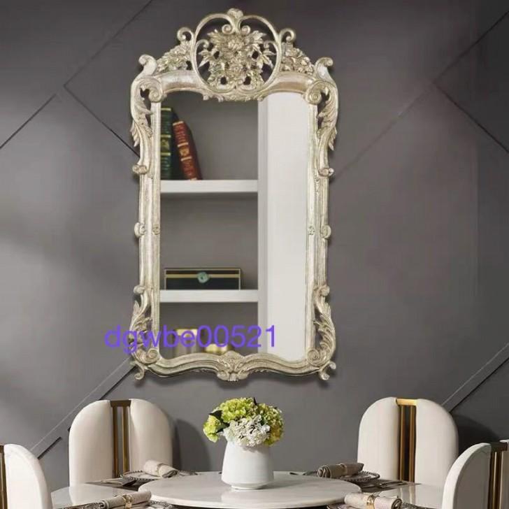 豪華鏡 アンティーク調 .壁掛け鏡 壁掛け .壁掛けミラー ウォールミラー 70x120