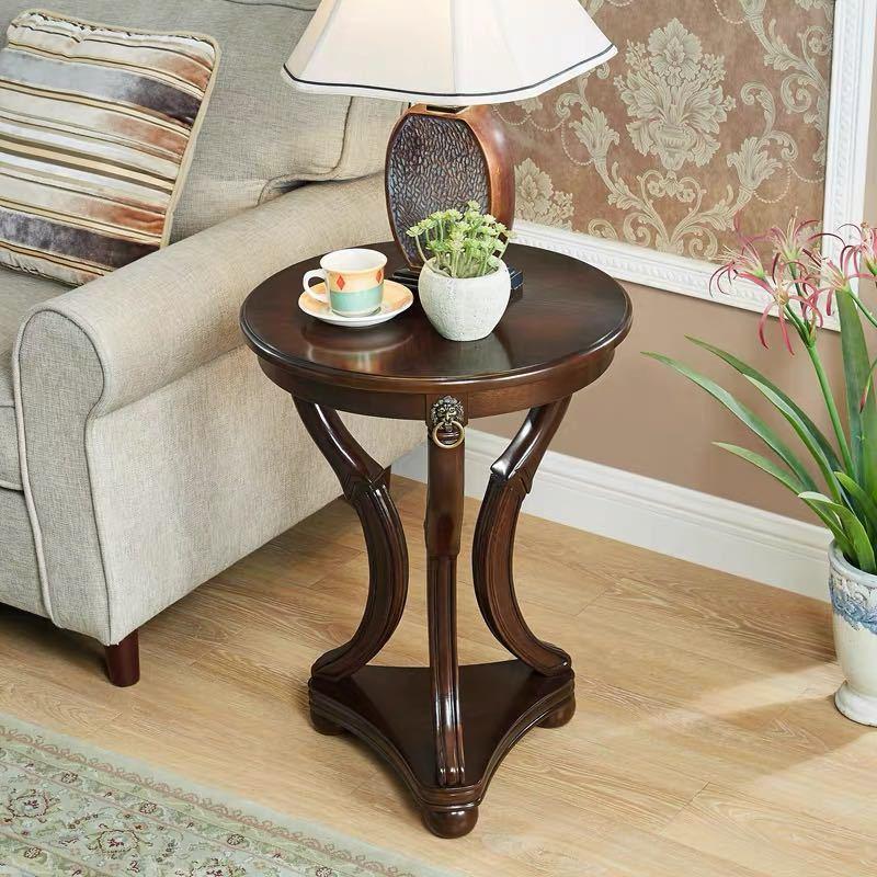 ~生活をカラフルオシャレに~ ベッドサイドテーブル,置台 本物 サイドテーブル ナイトテーブル 高級感 アンティーク風 激安☆超特価 ソファーテーブル