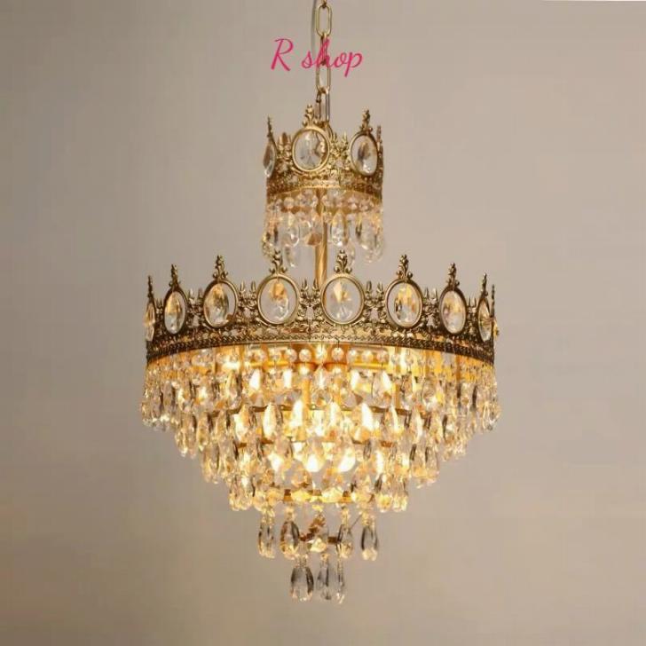 現品 ~生活をカラフルオシャレに~ 高級水晶ペンダントライト 洋風照明 シャンデリア 北欧デザイン 6灯 限定品 シーリングライト 天井照明