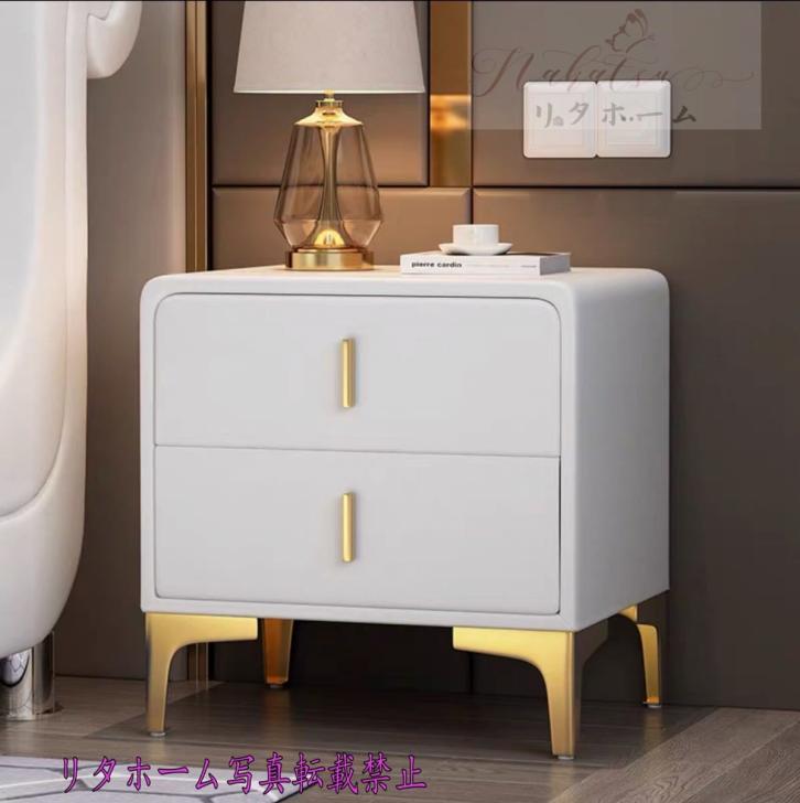 日本産 ~生活をカラフルオシャレに~ 北欧風ベッドサイドテーブル ナイトテーブル 収納キャビネット メーカー在庫限り品 引き出し 寝室ロッカー