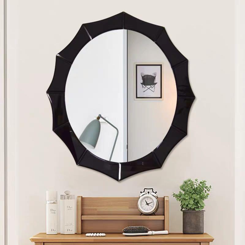 ~生活をカラフルオシャレに~ 高級豪華鏡 アンティーク調 壁掛け鏡 壁掛けミラー ウォールミラー 60x70cm 限定モデル 訳あり 壁掛け