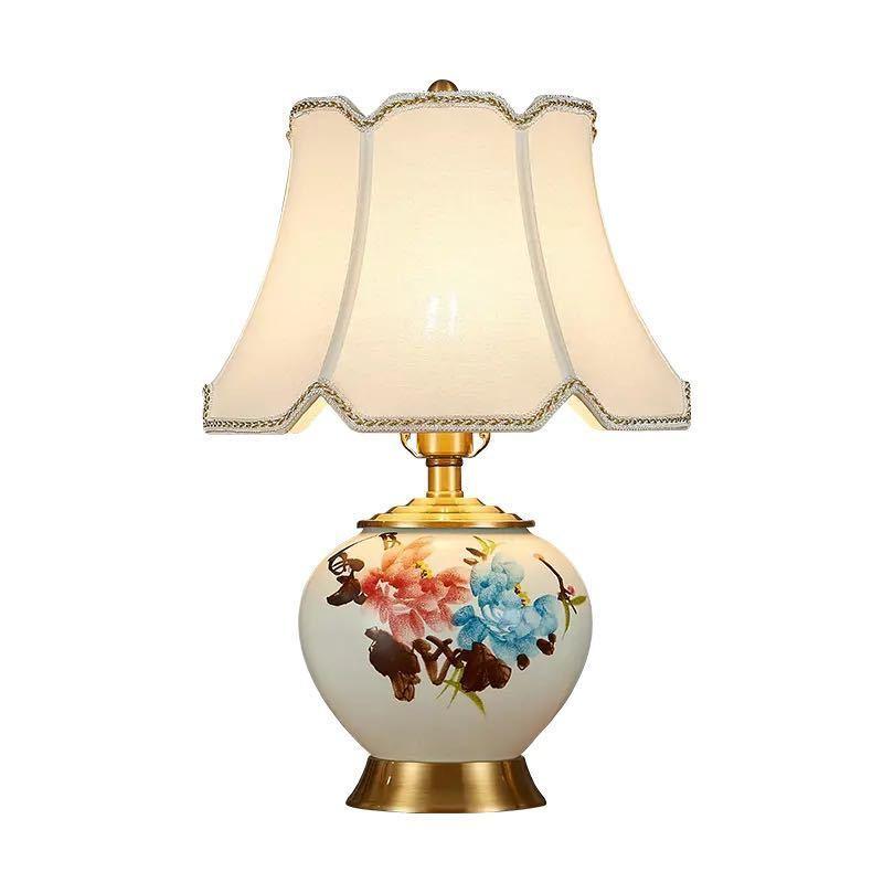 ~生活をカラフルオシャレに~ 照明スタンドライト テーブルランプ 2020新作 デスクライト. 激安価格と即納で通信販売 高級陶器卓上ステンド 高さ54cm