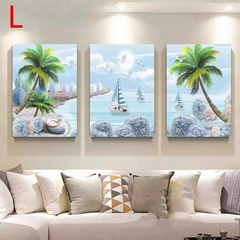 ~生活をカラフルオシャレに~ 美術アートパネル 絵画インテリア .壁飾り 絵画プリント 壁画 キャンバスプリントポスター3枚 40x60 別サイズあり