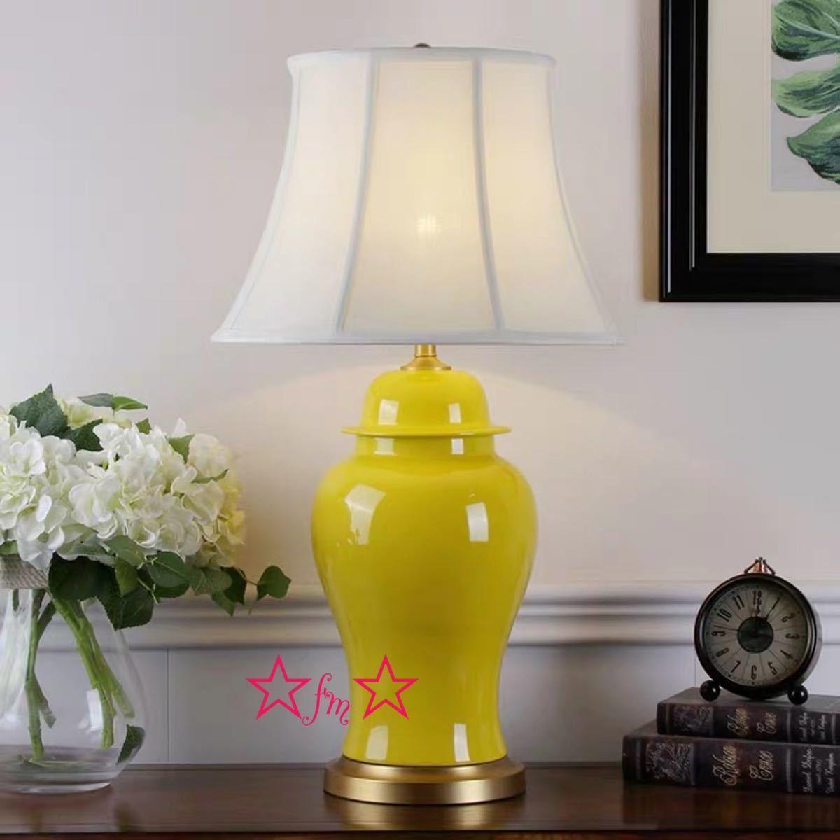 最初の  照明スタンドライト テーブルランプ デスクライト. 高級陶器卓上ステンド 高さ64cm, 仏壇 仏具 数珠 極楽堂 13da6df2