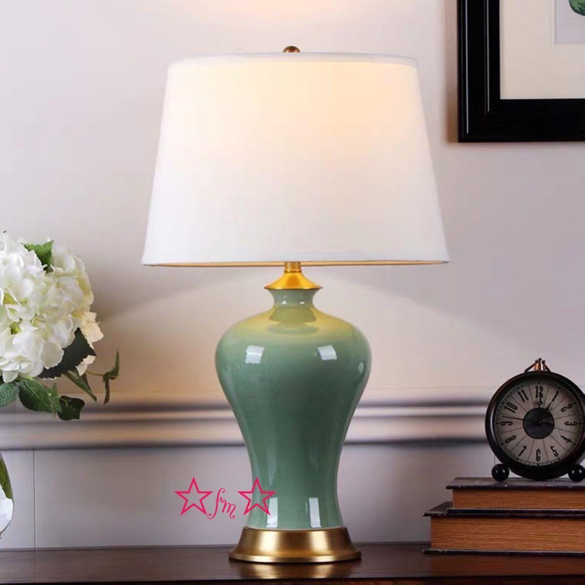 全品送料0円 照明スタンドライト テーブルランプ デスクライト. 高級陶器卓上ステンド 高さ62cm, ORISEK.ONLINE 8743f47e