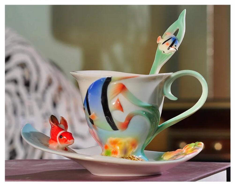 カップセット [正規販売店] ティー コーヒーカップセット お気に入 カップ ソーサー 1客セット