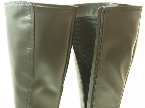 SALE 20%OFFストレッチ ロングブーツ 6403 カラー ブラック・ダークブラウンTJFlKc1