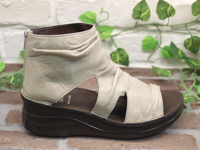 厚底財長筒靴涼鞋40509