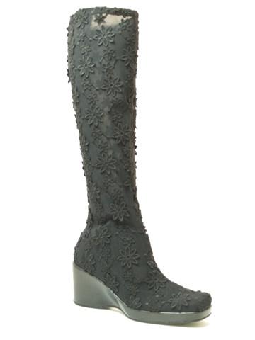 ストレッチロングブーツ4200 ブラック