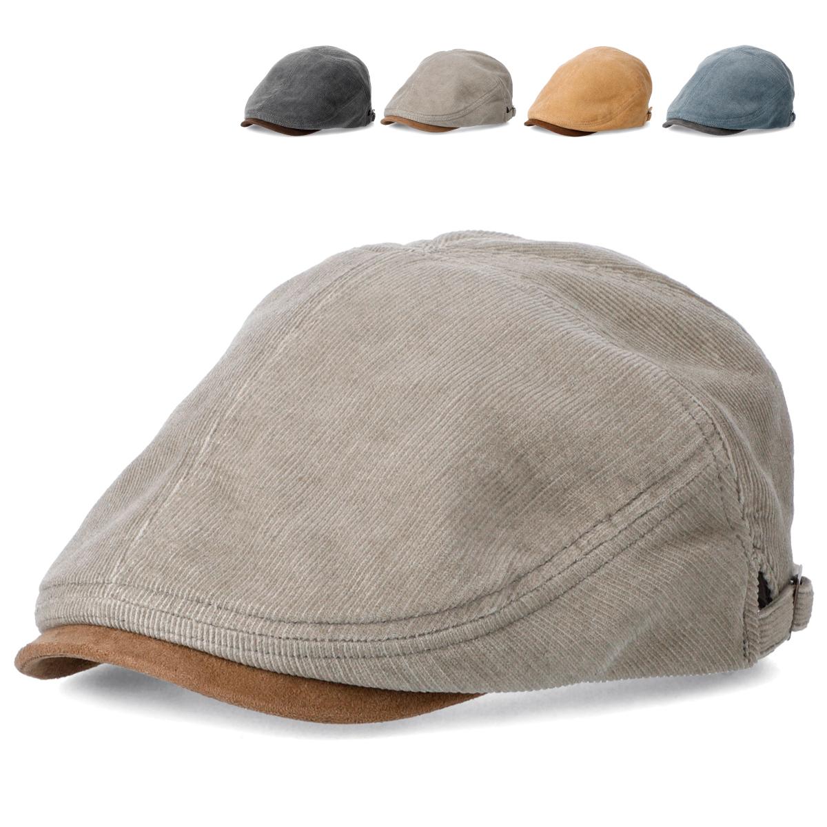 開店祝い USED見えする色合いの加工をしたコーデュロイ素材にフェイクスエードのツバでヴィンテージ風に仕上げたハンチング 帽子 ハンチング ビンテージ ゴルフ ベーシックエンチ Pigment Corduroy Hunting ピグメント コーデュロイ ヴィンテージ 安心の定価販売 全4色 キャップ フェイクスウェード bch-s01571 男女兼用 アイビー 鳥打帽 レディース メンズ