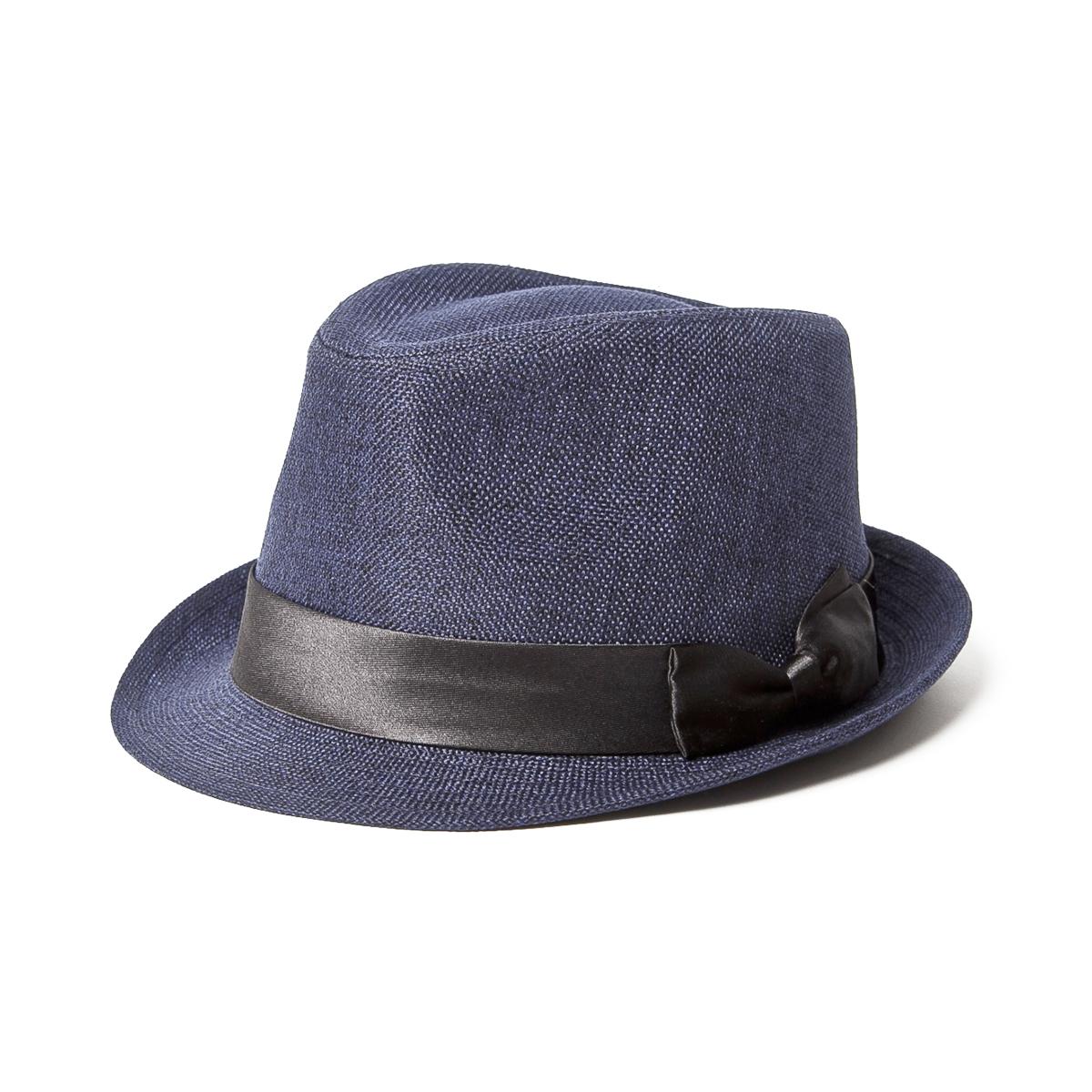 ベーシックエンチ Baron Hat バロンハット BASIQUENTI ユニセックス 帽子 ハット 中折れハット 麦わら ストロー ペーパー 夏 リバーアップ RIVER UP 日除け 通販 ファッション 楽ギフ 包装 楽ギフ メッセ入力