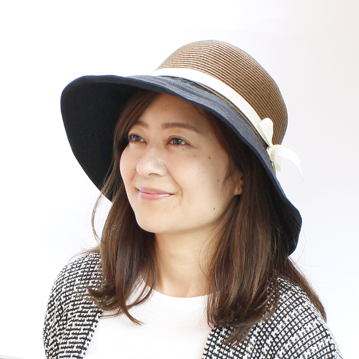 3210234eb8c84 Combi Sun Hat [BASIQUENTI] which improves folding made straw saliva wide hat  ...