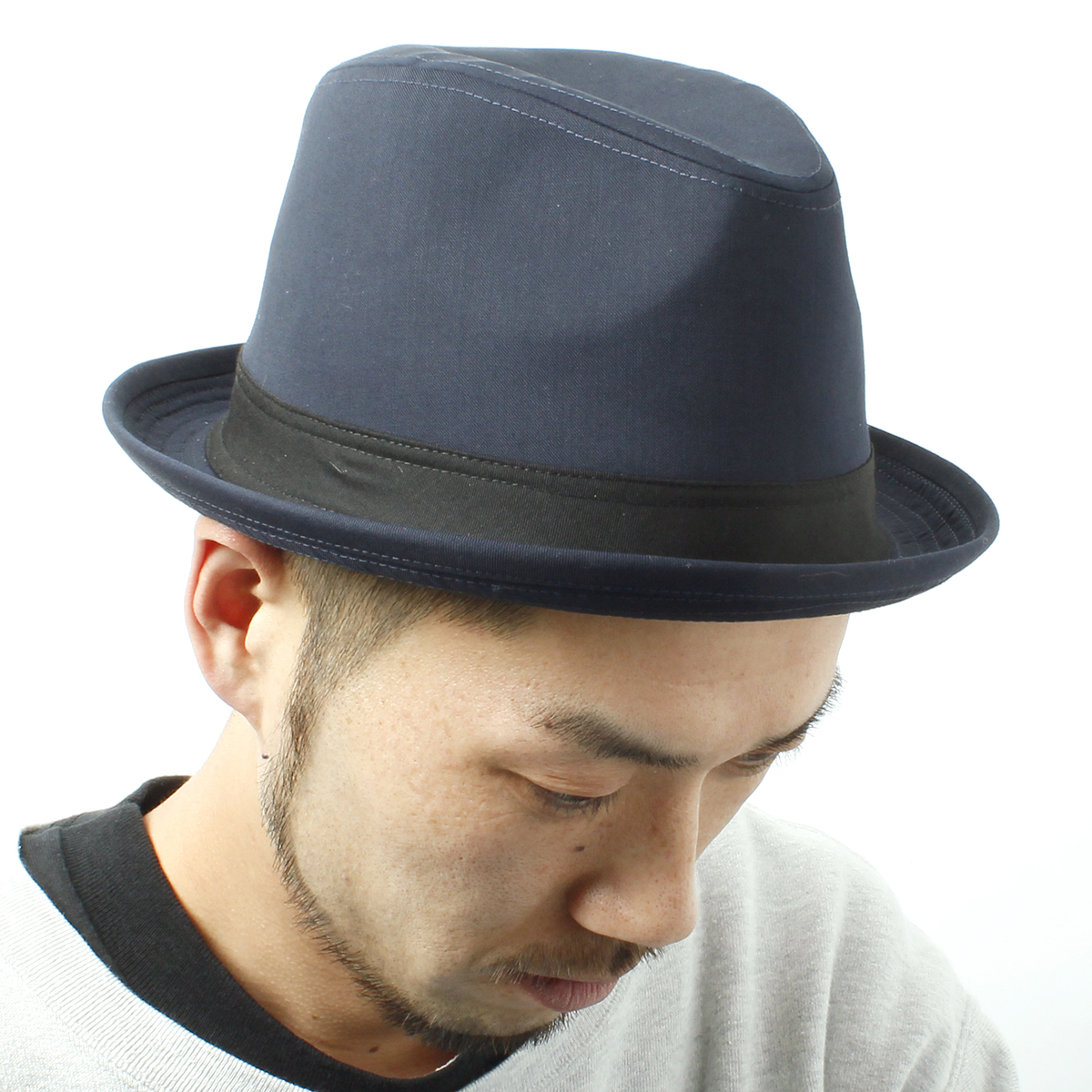 An orthodox roll-up soft felt hat hat! Four colors of ◎ development -Roll Hat (roll hat) stylish with shortish saliva men's Lady's, hat, unisex suit hat, gentleman hat