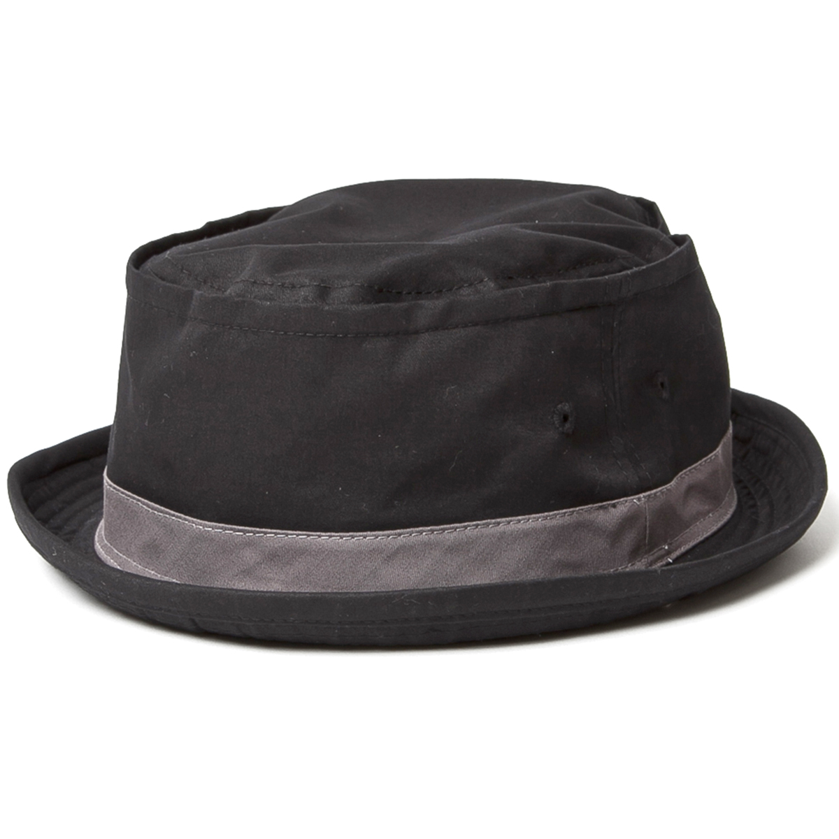 Classic pork pie Hat! Solid color of hat world champion • 3 colors-Cotton Pork Pie Hat ( コットンポークパイ Hat ) mens Womens unisex-Hat pork pie-テラピンチ NY