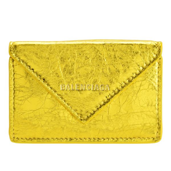 バレンシアガ BALENCIAGA ショップ袋付き 三つ折り財布 ミニ アウトレット ペーパー PAPIER PAPER 391446ogt4n8000-zz | さいふ 財布 カード入れ 小銭入れ レディース かわいい オシャレ 小さい 小さめ コンパクト ブランド
