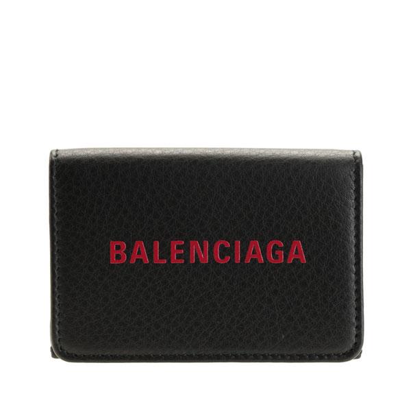 バレンシアガ BALENCIAGA ショップ袋付き 三つ折り財布 メンズ レディース ミニ アウトレット 551921dlq4n1075   さいふ サイフ ウォレット 財布 小銭入れ カード 収納 オシャレ おしゃれ シンプル ブランド