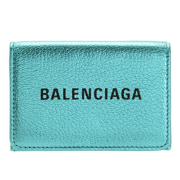 バレンシアガ BALENCIAGA ショップ袋付き 三つ折り財布 ミニ アウトレット 551921oor1n4260-zz | ウォレット サイフ 財布 カード入れ 小銭入れ レディース 可愛い 小さい 小さめ コンパクト ブランド