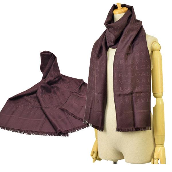 ブルガリ BVLGARI ストール スカーフ アウトレット 242053 | マフラー オシャレ おしゃれ ブランド シルク 令和 記念