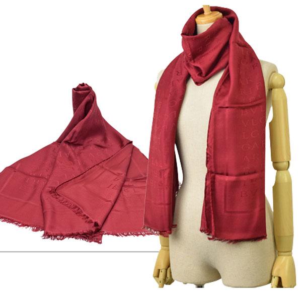 ブルガリ BVLGARI ストール スカーフ アウトレット 242676 | マフラー オシャレ おしゃれ ブランド シルク 令和 記念