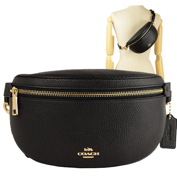コーチ COACH ウエストバッグ ウエストポーチ ボディバッグ アウトレット 39939gdblk | バッグ バック かばん 鞄 肩掛け 斜め掛け 斜めがけ コンパクト オシャレ おしゃれ ブランド