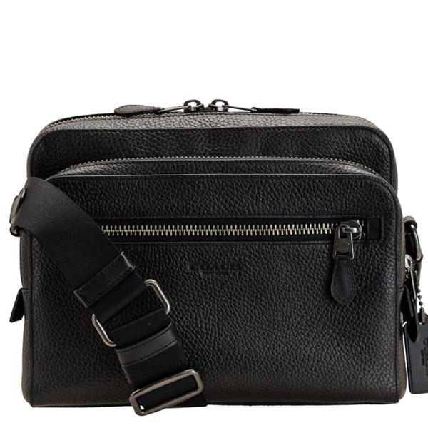 COACH コーチ バッグ アウトレット メンズ 斜めがけショルダーバッグ 91484qbbk ショルダー 人気商品 バック 爆買い送料無料 かばん 斜めがけ 鞄 おしゃれ レザー 肩掛け 斜め掛け ファッション ブランド カメラバッグ