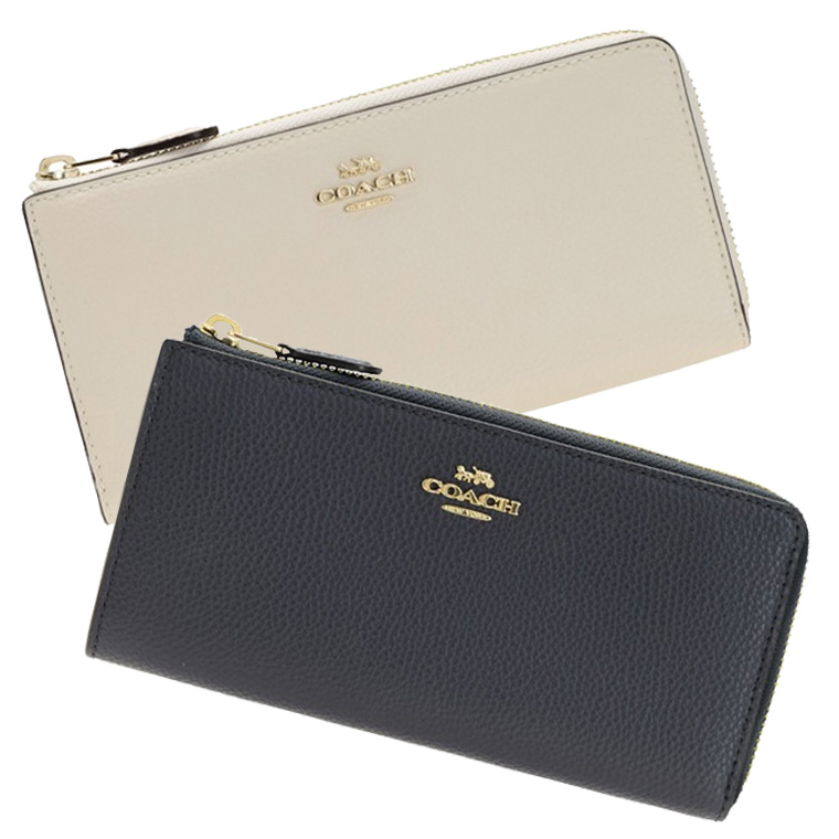 コーチ COACH L字ファスナー長財布 アウトレット f73445   ウォレット サイフ さいふ 財布 ブランド財布 小銭入れ ファスナー カード入れ 多い レディース かわいい 可愛い 大人可愛い 使いやすい ブランド